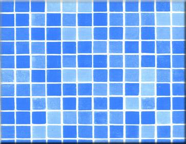 Detailbeeld folie byzantijns blauw motief ALKORPLAN 3000