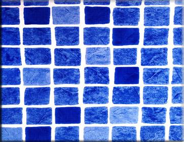 Detailbeeld folie perzisch blauw motief RENOLIT ALKORPLAN 3000