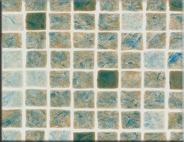Detailbeeld folie perzisch zand motief RENOLIT ALKORPLAN 3000