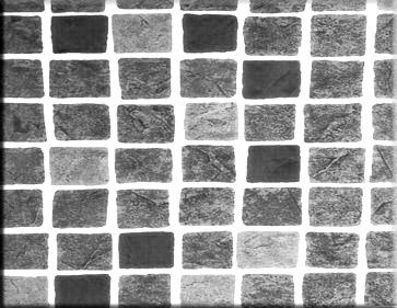 Detailbeeld folie perzisch zwart motief RENOLIT ALKORPLAN 3000