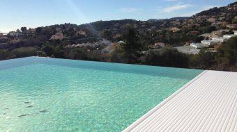dm zwembaden | afdekking zwembad met lamellen t-and-a | sfeerbeeld 4